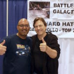 Richard Hatch and Davinder at WonderCon 2014